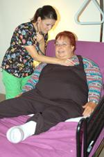 Christiana Cinn Taking Care Of Mom